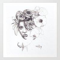 Infinite Spring Art Print