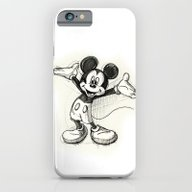 iPhone & iPod Case featuring Mickey Mouse by Herself