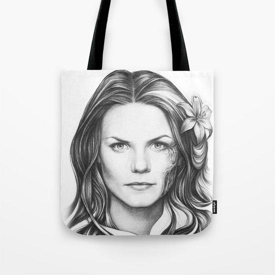 Dr. Cameron-House MD-Jennifer Morrison-Portrait Tote Bag