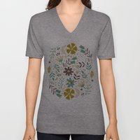 Bloom  Unisex V-Neck