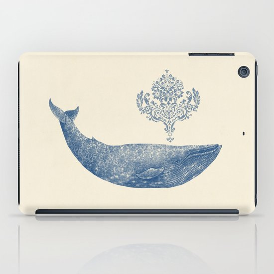 The Damask Whale  iPad Case