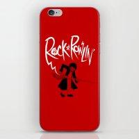 Rock And Rowlin' iPhone & iPod Skin