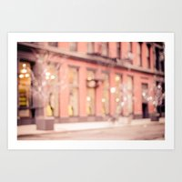 New York Is A Dream Art Print