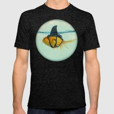 BRILLIANT DISGUISE 03 Mens Fitted Tee Tri-Black SMALL
