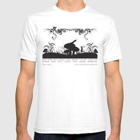 Alice's Adventures In Wo… Mens Fitted Tee White SMALL