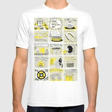 WHAT WOULD CHARLIE KELLY DO? White SMALL Mens Fitted Tee
