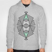 Triangle Tribal Mint Hoody