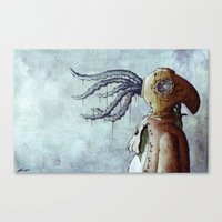 The Octopus Man Canvas Print