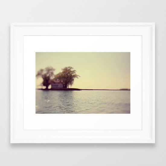 A Place In The Sun Framed Art Print