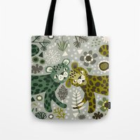 Leopard Love Tote Bag