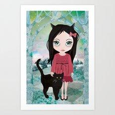Séraphine Art Print
