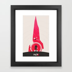 Mass Effect Framed Art Print