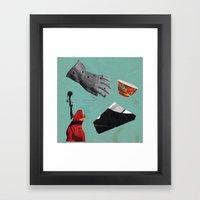 PAGEANTRY Framed Art Print