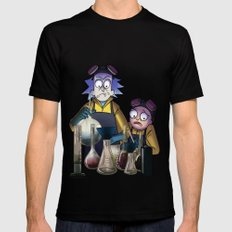 Breaking Morty SMALL Black Mens Fitted Tee