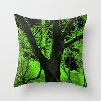 The Respite From THE RIS… Throw Pillow