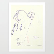 100 5 Art Print
