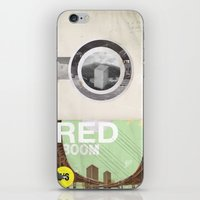 The RED project coming soon iPhone & iPod Skin