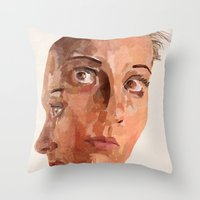 Another Side To Me Throw Pillow