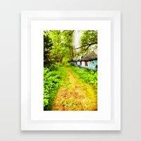 Woodsman's Cottage Framed Art Print