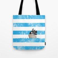 Pirates Love Stripes Tote Bag