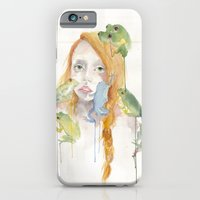 Exodus and the Frog Prince Portrait  iPhone 6 Slim Case