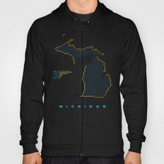 MDOT - Michigan Land & Maritime Borders Hoody