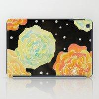 Lighted Flowers iPad Case