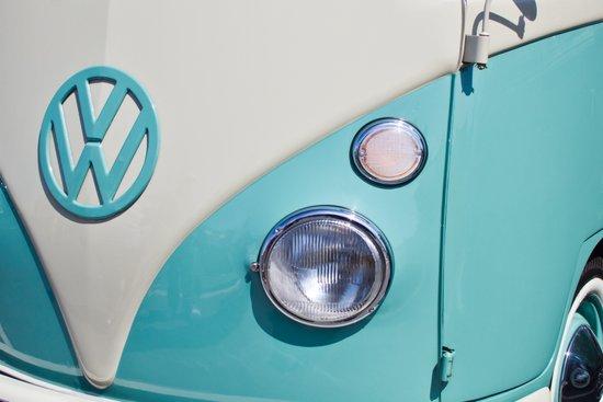 Classic VW Camper Art Print