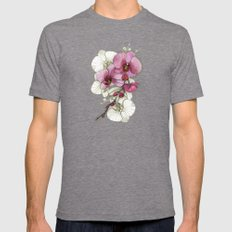 tiny, perfect beauty Mens Fitted Tee Tri-Grey SMALL