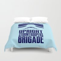 UPRIGHT STORMTROOPERS BR… Duvet Cover
