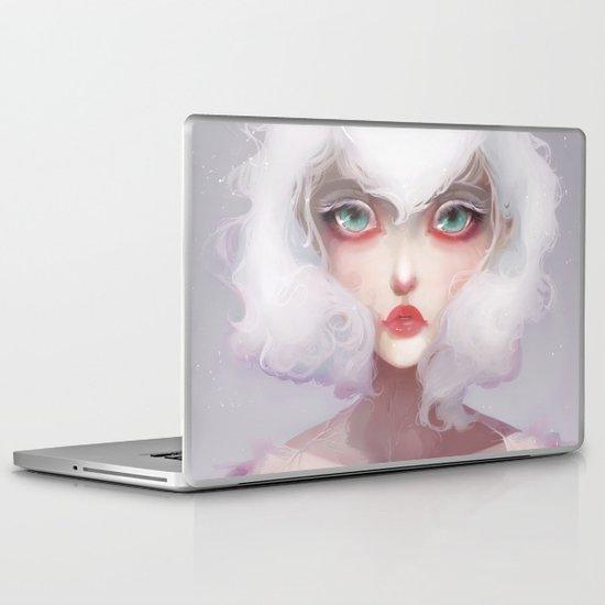 Le coeur des crocus... Laptop & iPad Skin