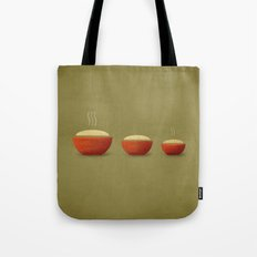 Goldilocks & the Three Bears Tote Bag