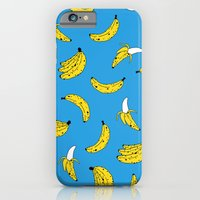 iPhone Cases featuring Banana Print by Saif Chowdhury