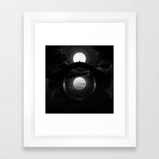 Drawlloween 2014: Eye Framed Art Print