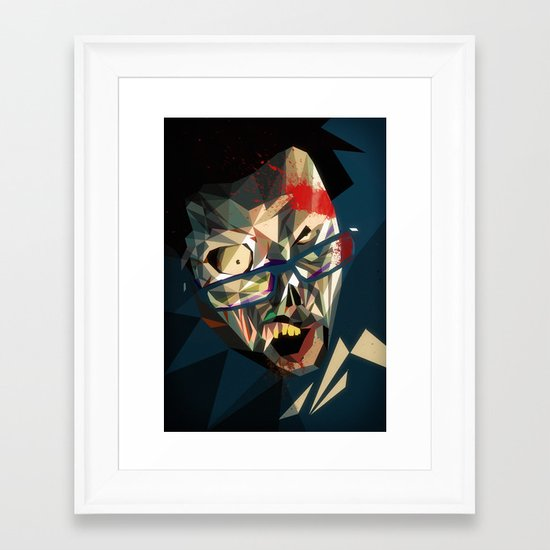 Zombme Framed Art Print