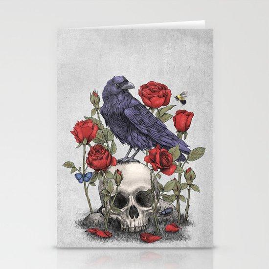 Memento Mori  Stationery Card