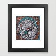 Framed Art Print featuring The Sun Goddess by Caitlin Hackett