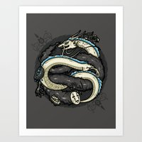 NEVERENDING DREAM Art Print