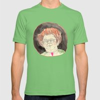 Happy Bruleday Mens Fitted Tee Grass SMALL
