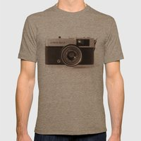 Olympus Trip Mens Fitted Tee Tri-Coffee SMALL