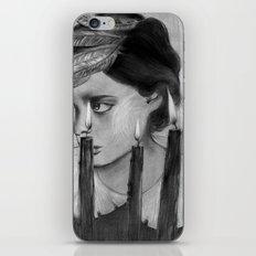 SACRED FLAMES iPhone & iPod Skin