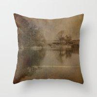Throxenby Mere Throw Pillow