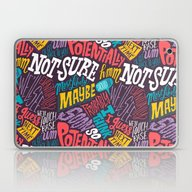 Laptop & iPad Skin featuring Pattern Of Uncertainty by Chris Piascik