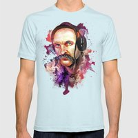 Cossack Ivan Sirko Liste… Mens Fitted Tee Light Blue SMALL
