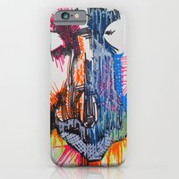iPhone & iPod Case featuring The Nose Knows by Evan Hawley