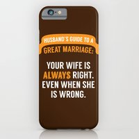 Wife is Always Right. iPhone 6 Slim Case