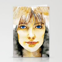 Francoise Hardy Stationery Cards