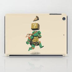 turtle power..up iPad Case
