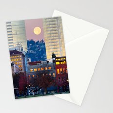 PDX Moon. Stationery Cards