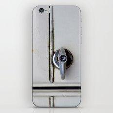 Rusty door iPhone & iPod Skin